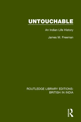 Untouchable: An Indian Life History book cover