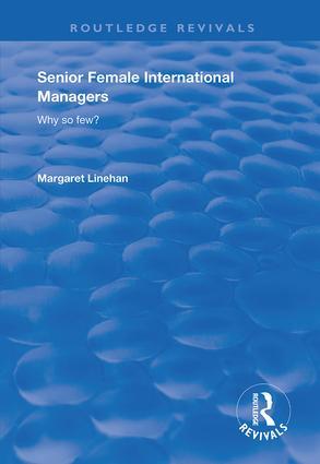 Senior Female International Managers: 1st Edition (Hardback) book cover
