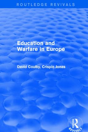 Education and Warfare in Europe: 1st Edition (Hardback) book cover