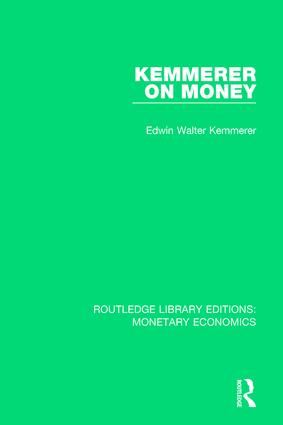 Kemmerer on Money book cover
