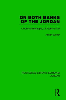 On Both Banks of the Jordan: A Political Biography of Wasfi al-Tall book cover