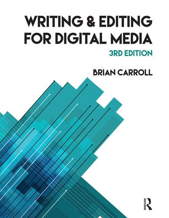 Writing and Editing for Digital Media: 3rd Edition (Paperback) book cover