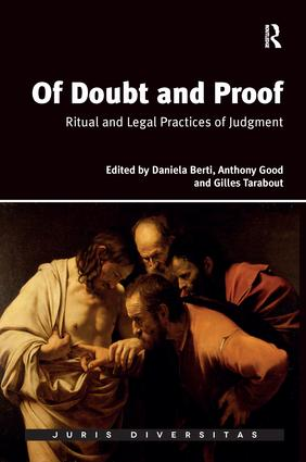 Of Doubt and Proof: Ritual and Legal Practices of Judgment book cover