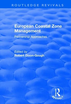 European Coastal Zone Management: Partnership Approaches (Hardback) book cover