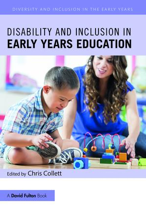 Disability and Inclusion in Early Years Education book cover