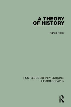 A Theory of History: 1st Edition (Paperback) book cover