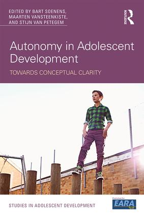 Autonomy in Adolescent Development: Towards Conceptual Clarity (Paperback) book cover
