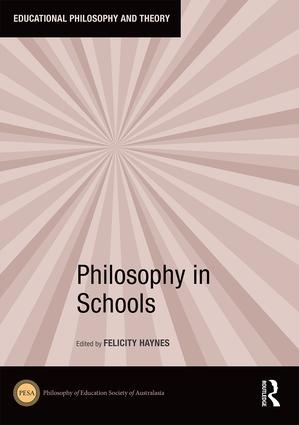 Philosophy in Schools book cover
