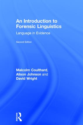 Critical, theoretical, and methodological approaches to language in legal settings