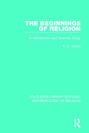 The Beginnings of Religion: An introductory and Scientific Study book cover