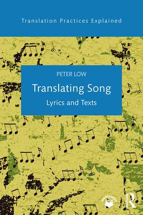 Translating Song: Lyrics and Texts (Paperback) book cover