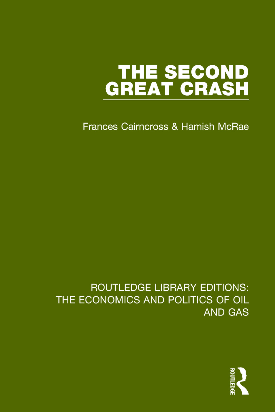 The Second Great Crash book cover