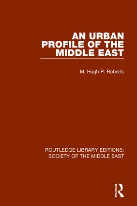 An Urban Profile of the Middle East book cover