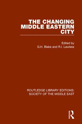 The Changing Middle Eastern City book cover