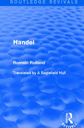 Handel: 1st Edition (Paperback) book cover