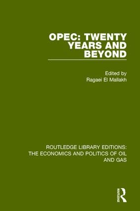 OPEC: Twenty Years and Beyond book cover