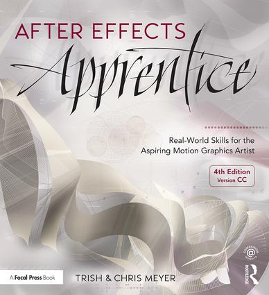 After Effects Apprentice: Real-World Skills for the Aspiring Motion Graphics Artist book cover