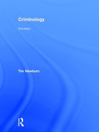 Criminology: 3rd Edition (Hardback) book cover