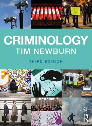 Criminology book cover