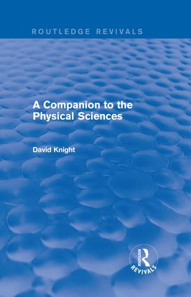 A Companion to the Physical Sciences: 1st Edition (Hardback) book cover