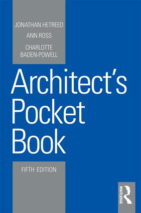 Architect's Pocket Book: 5th Edition (Paperback) book cover