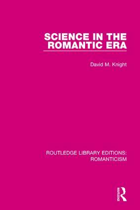 Science in the Romantic Era book cover
