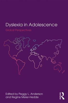 Dyslexia in Adolescence: Global Perspectives (Paperback) book cover