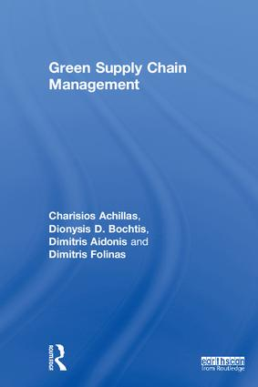 Green Supply Chain Management book cover