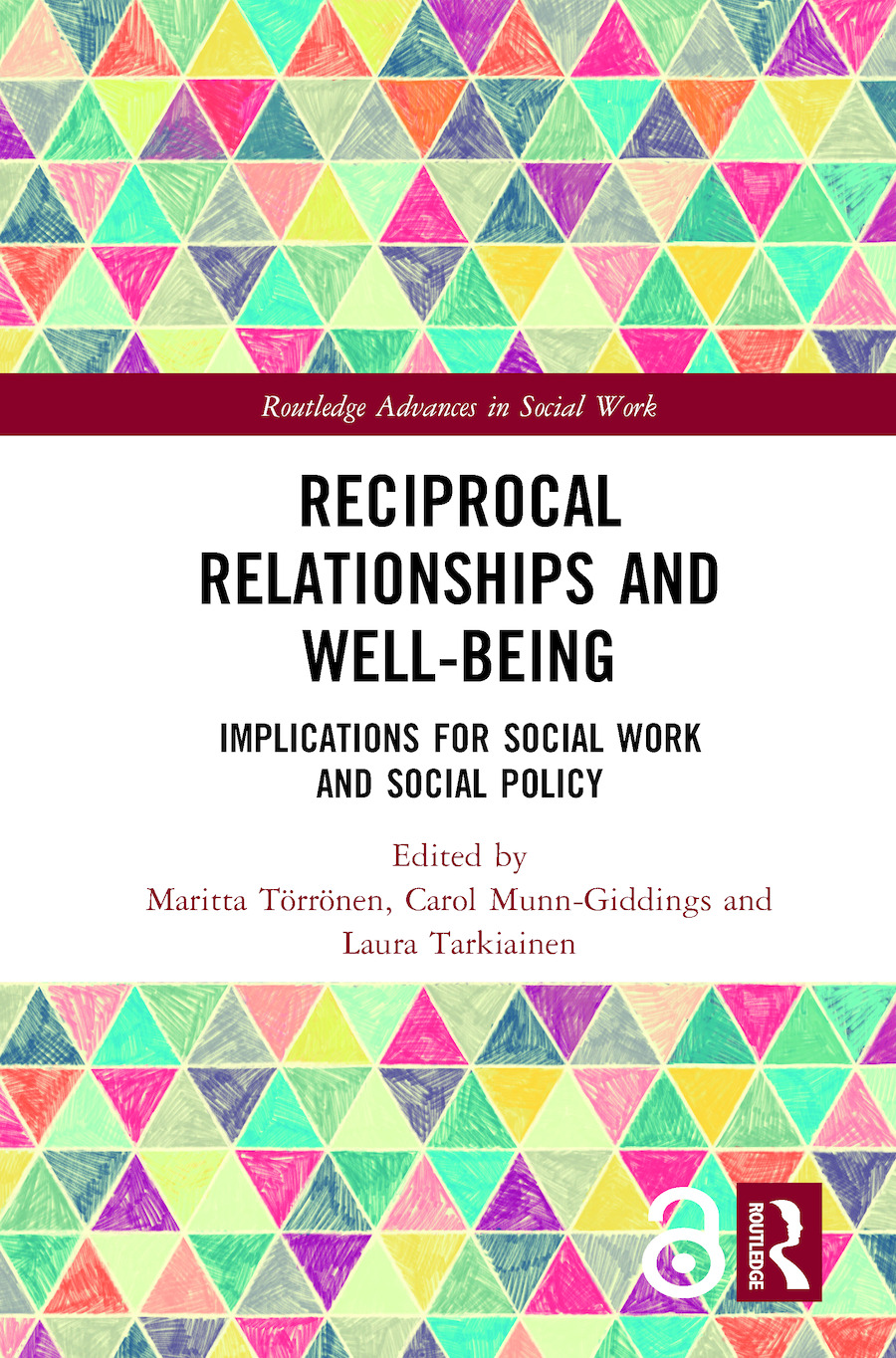 Reciprocal Relationships and Well-being: Implications for Social Work and Social Policy book cover
