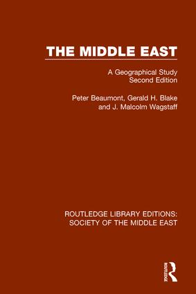 The Middle East: A Geographical Study, Second Edition book cover