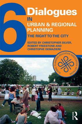 Dialogues in Urban and Regional Planning 6: The Right to the City book cover