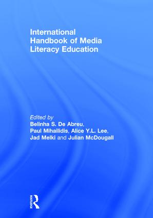 International Handbook of Media Literacy Education: 1st Edition (Hardback) book cover