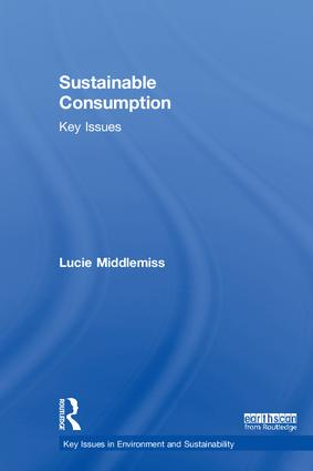 Sustainable Consumption: Key Issues book cover