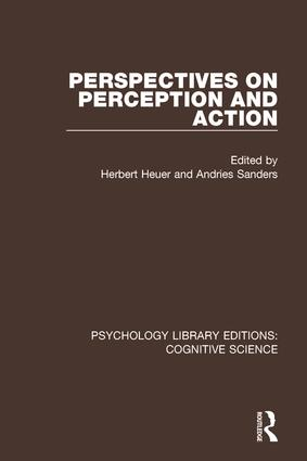 Perspectives on Perception and Action: 1st Edition (Paperback) book cover