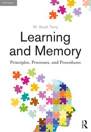 Learning and Memory: Basic Principles, Processes, and Procedures, Fifth Edition book cover
