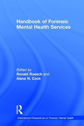 Handbook of Forensic Mental Health Services book cover