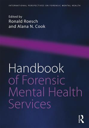 Handbook of Forensic Mental Health Services: 1st Edition (Paperback) book cover