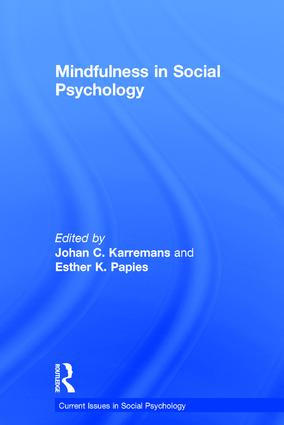 Mindfulness in Social Psychology book cover