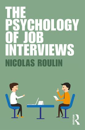 The Psychology of Job Interviews (Paperback) book cover