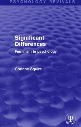 Significant Differences: Feminism in Psychology book cover