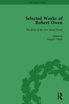 The Selected Works of Robert Owen vol III: 1st Edition (Hardback) book cover