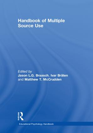 Handbook of Multiple Source Use: 1st Edition (Hardback) book cover