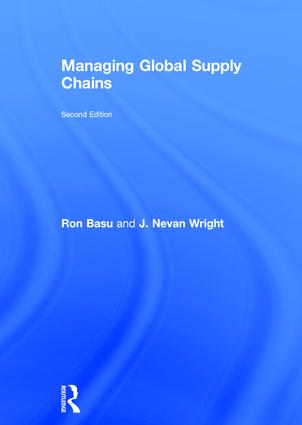 Managing Global Supply Chains: 2nd Edition (Hardback) book cover