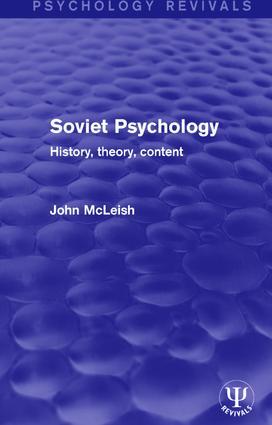 Soviet Psychology