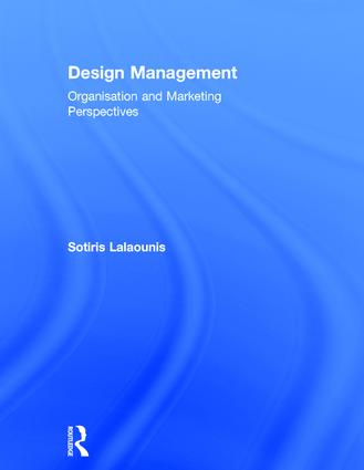 Design Management: Organisation and Marketing Perspectives book cover