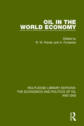 Oil In The World Economy book cover