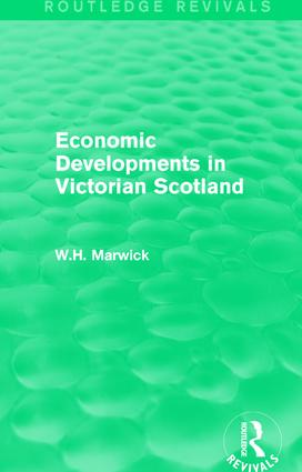 Economic Developments in Victorian Scotland