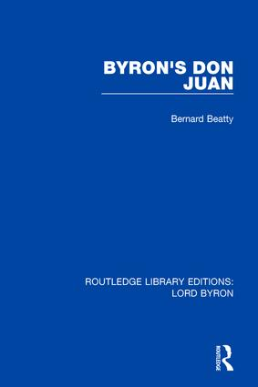 Byron's Don Juan book cover