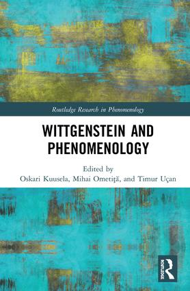 Wittgenstein and Phenomenology book cover