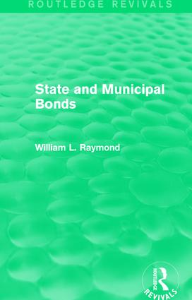 State and Municipal Bonds: 1st Edition (Paperback) book cover